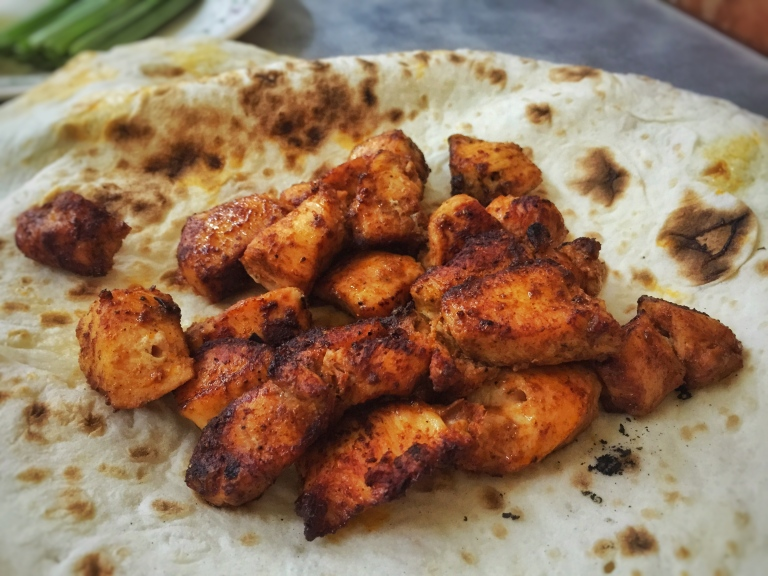 Grilled Chicken Kebab (Boneless)